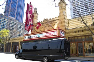 Atlanta Party Bus at Historic Fox Theater