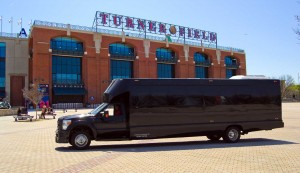 A National Party Bus at Atlanta's Turner Field